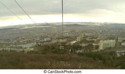 Cableway in Pyatigorsk
