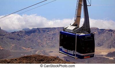 Cableway of Tenerife.