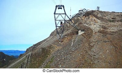 cableway, travel.