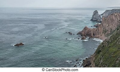 "Cabo da Roca ""Cape Roca"" forms the westernmost mainland of..."