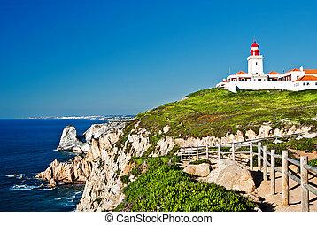 Cabo da Roca (Cape Roca) is a cape which forms the ...