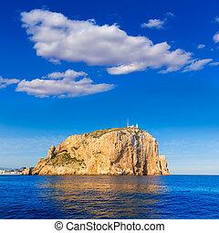 Cabo de San Antonio cape in Javea Denia at Spain - Cabo de...