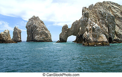 Cabo San Lucas in Mexico is a city in the Southern tip of the Baja California peninsula. Its beautiful beaches, warm water and party scene make it a popular tourist destination. Although some sailors landed on this deserted tip of land many times before it was only in 1917 the place was built up, ...
