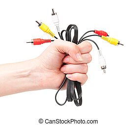 cabos, mão