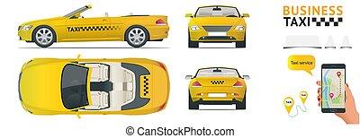 Cabrio Car taxi. Transfer, flat high quality city service...