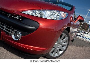 cabriolet, auto, detail
