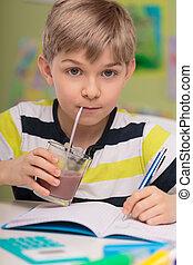 cacao, bere, calorico, bambino