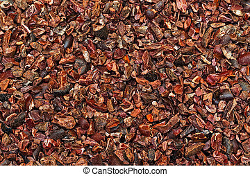 Cacao Nibs - Raw Organic Cacao Nibs Crushed From Coca Beans