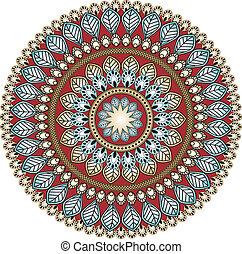 cachemira, círculo