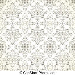 cachemira, papel pintado, seamless
