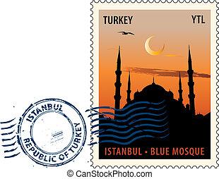 cachet poste, istanbul