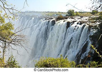 Cachoeira, ensolarado, Dia,  VICTORIA