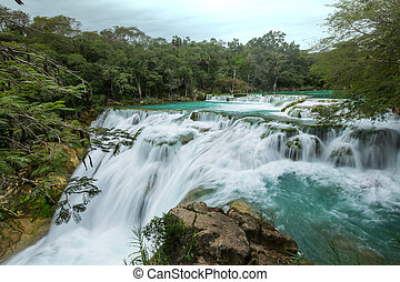 cachoeira, méxico