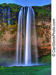 Cachoeira,  seljalandfoss