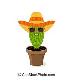 Cactus in the hat