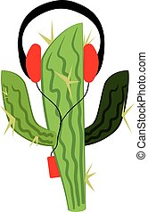 Cactus in the player