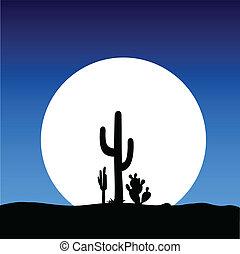 cactus, lune