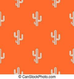 Cactus pattern seamless