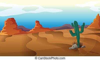 cactus, triste