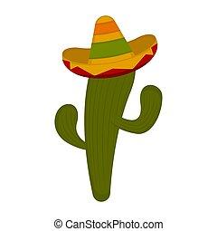 Cactus with a sombrero