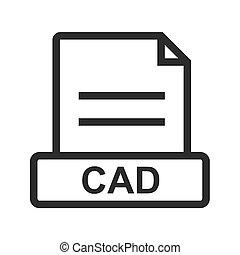 cad, arquivo