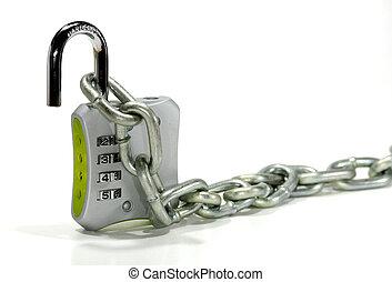 cadeado combinação