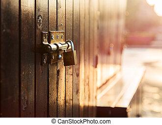 cadeado porta
