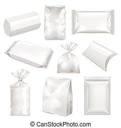 cadeau, collection, paquet