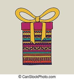 cadeau, conception