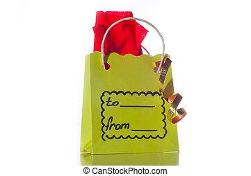 cadeau, paquet