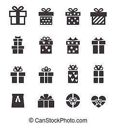 cadeau, pictogram
