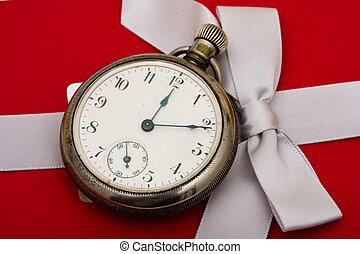 cadeau, temps