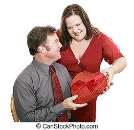 cadeau, valentijn