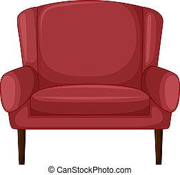 cadeira, almofada