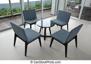 cadeira, e, tabela