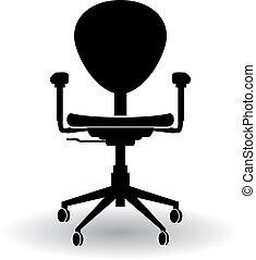 cadeira, escritório