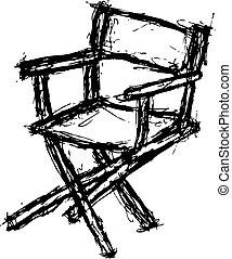 cadeira, grunge