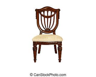 cadeira madeira, ornate