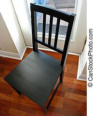 cadeira, pretas