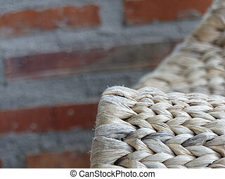 cadeira wicker
