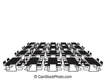 cadeiras, jantando tabela