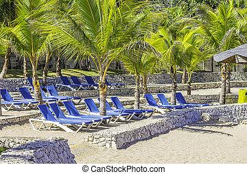 cadeiras, praia