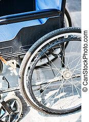 cadeiras rodas, nenhuma pessoas, .