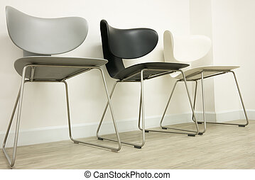 cadeiras, sala de espera