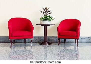cadeiras, tabela