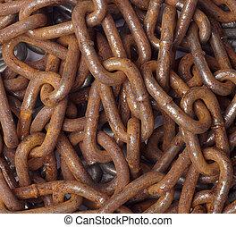 cadena, conexión, esclavitud, strenght, enlace
