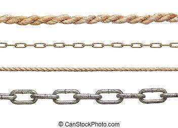 cadena, conexión, esclavitud, strenght, l