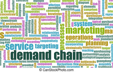 cadena, demanda
