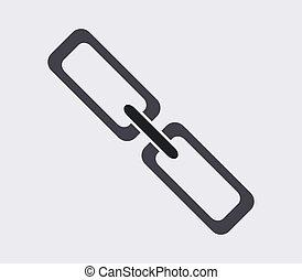 cadena, icono