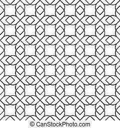 cadena, seamless, vector, patrón